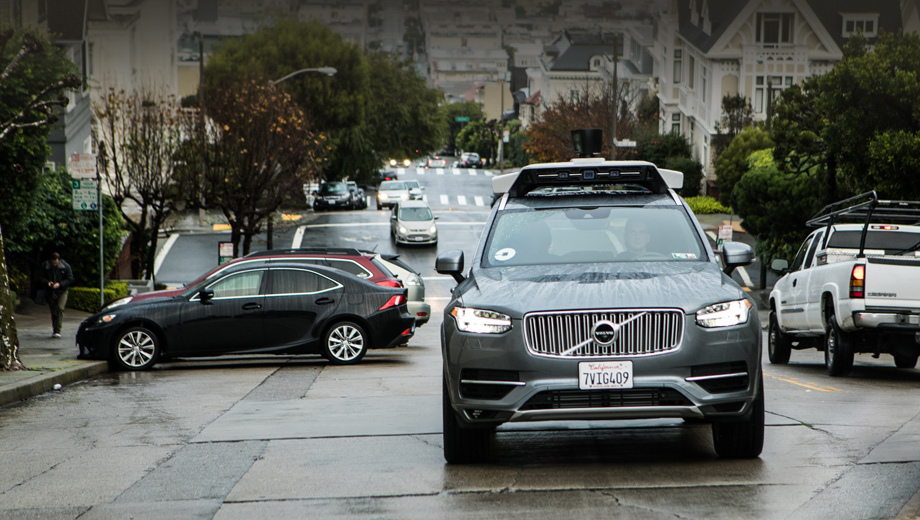 Volvo xc90. Беспилотные такси Убера в Сан-Франциско — второй большой проект фирмы после тестов автономных Фордов в Питтсбурге.