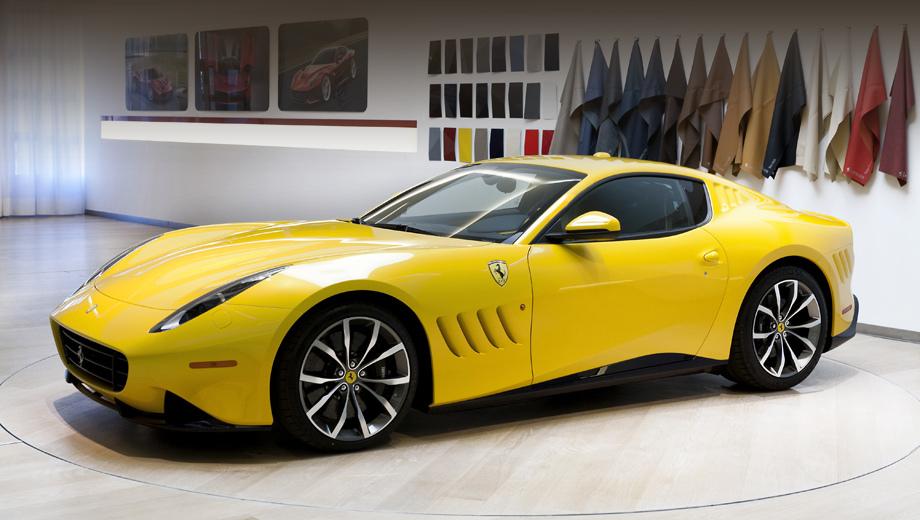 Ferrari sp 275 rw competizione,Ferrari f12. Индекс свидетельствует, что эта машина относится к серии Special Projects, ряду единичных образцов с неповторимым дизайном, сделанных под запросы конкретных клиентов.