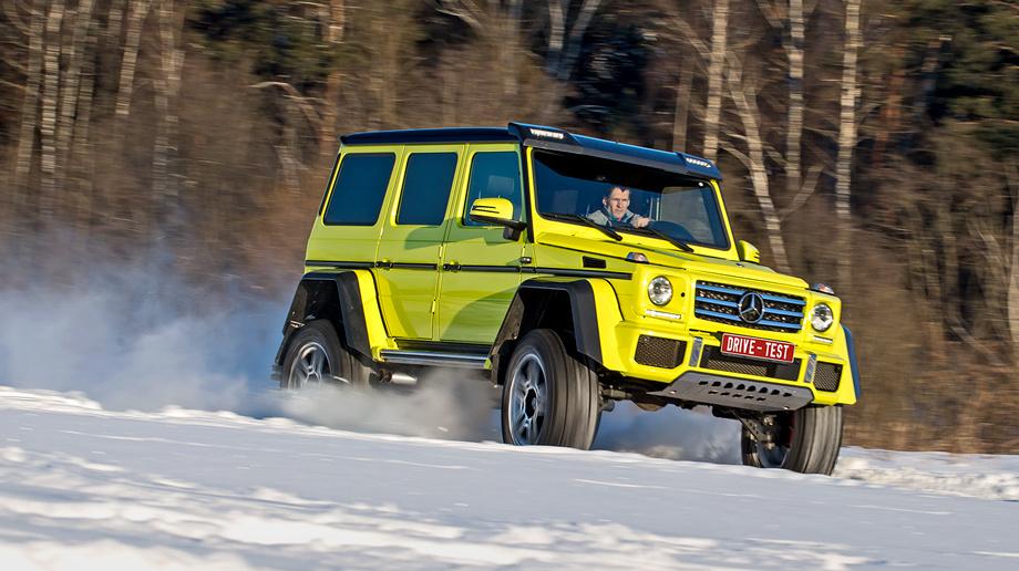 Впрыгиваем в Новый год на внедорожнике Mercedes G 500 4x4²