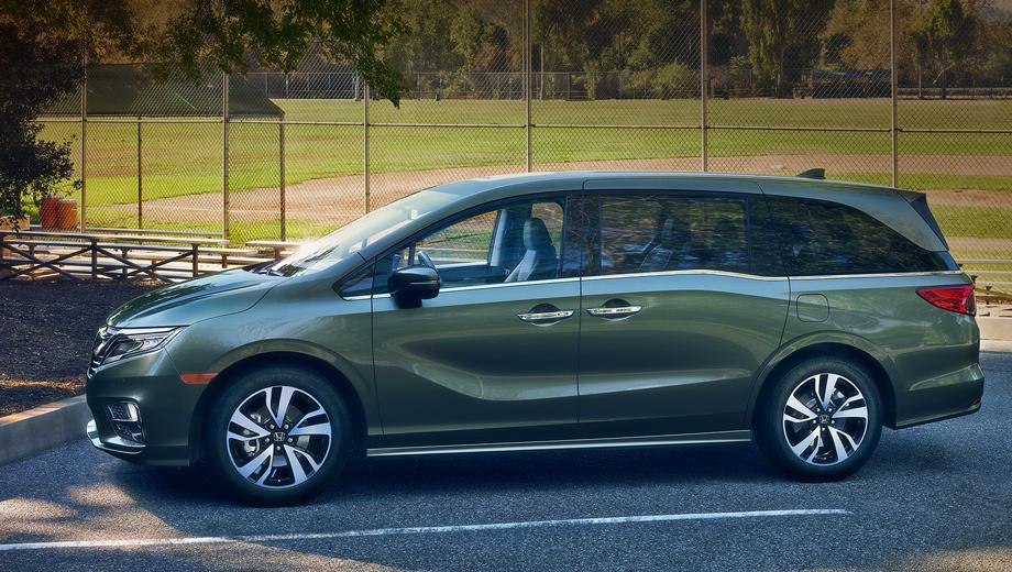 Honda odyssey. Одновременно с премьерой «автобуса» в Детройте компания Honda объявила: в 2018 году на рынок США выйдет новая гибридная модель. Нет практически никаких сомнений, что ею станет как раз Odyssey, чтобы дать отпор вэну Chrysler Pacifica. В Японии у Одиссея такая модификация уже есть.
