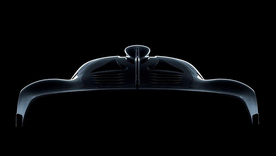 Mercedes project one. Вот такое изображение «первого проекта» недавно обнаружилось на сайте производителя. Экстремальное купе, построенное на основе болида Mercedes F1 W07 Hybrid, получит доступ на дороги общего пользования.