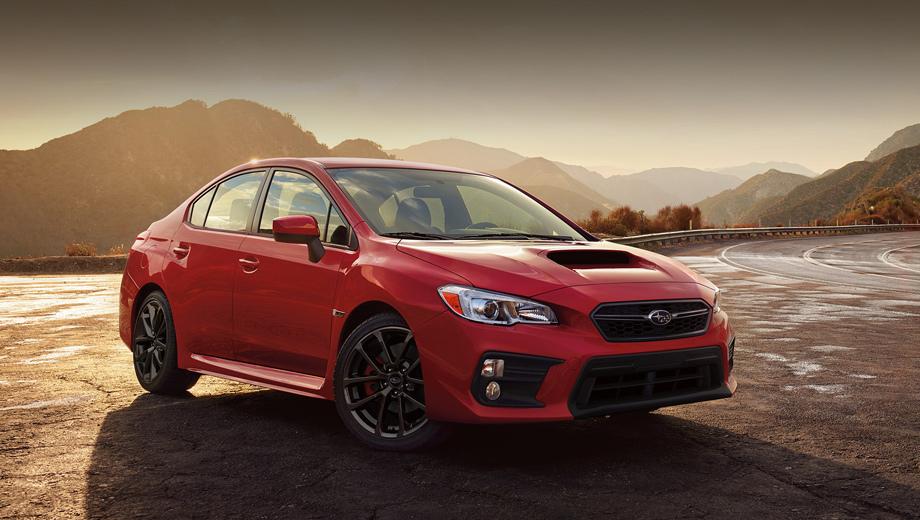 Subaru wrx,Subaru wrx sti. Внешность старого WRX дизайнеры поправили с оглядкой на новую Импрезу, поменяв решётку радиатора и форму воздухозаборников.