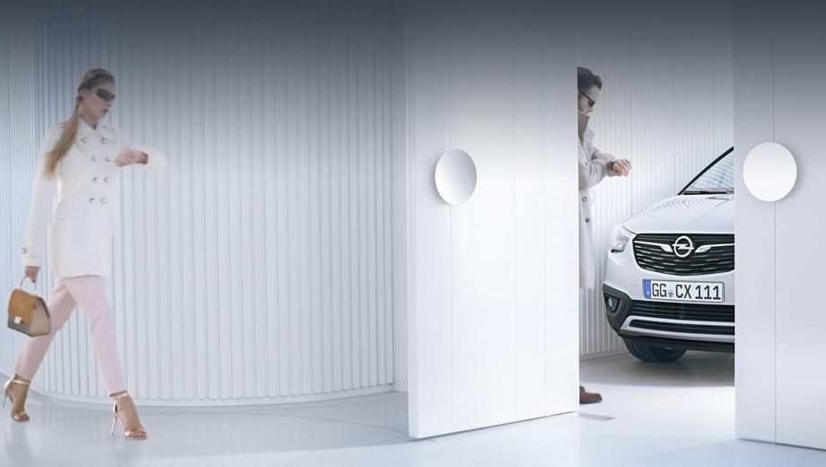 Opel meriva,Opel crossland x. Фары и решётка радиатора напоминают Мокку X, но Crossland X немного крупнее и позиционироваться будет как более эмоциональный и в то же время практичный (за счёт большего багажника).