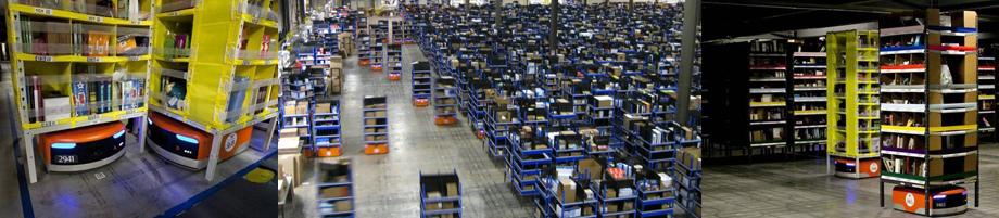 Кстати, на складах Амазона товары перемещают 30 000 роботов от дочерней Amazon Robotics — ещё один пример того, что тема автономного передвижения Амазону не чужда.