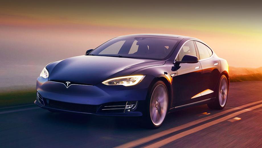 Tesla model s,Tesla model x. В отличие от топовой версии S P100D, которая может набрать 100 км/ч с места за 2,7 с, новый вариант справляется с заданием только за 4,4 с. (Максималка одинакова — 250 км/ч.)