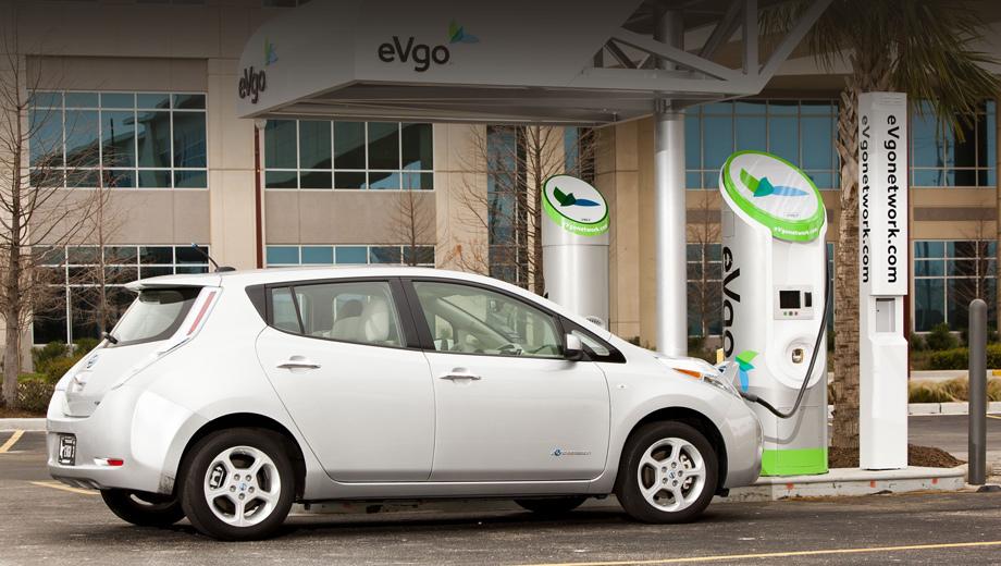 Bmw i3,Nissan leaf. Владельцы Лифов могут найти точки EVgo с помощью приложения EZ-Charge, а в BMW нужно выбрать соответствующий раздел ConnectedDrive в мультимедийной системе либо приложение ConnectedApp на смартфоне.