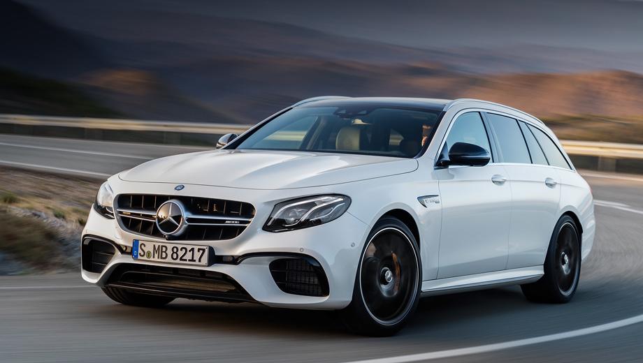 Mercedes e,Mercedes e amg,Mercedes e estate,Mercedes e amg estate. Мотор V8 4.0 пытается угодить не только буйным, но и «зелёным». Двухтонный универсал потребляет в смешанном цикле 9,1−9,4 л топлива на 100 км. Разумеется, не в последнюю очередь благодаря системе отключения половины цилиндров при частичных нагрузках.