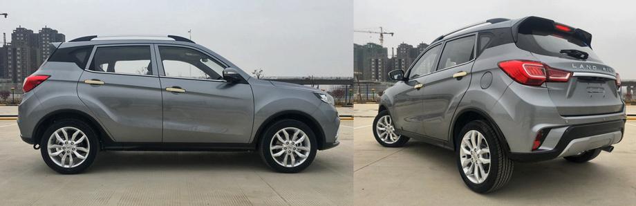 """На X-выштамповки по кузову творцы не решились. В профиль и сзади машина выглядит самобытно. Кстати, во внешности есть параллели с моделью <a href=""""/e/Bkc4QEAAARQ"""" class=""""c-link"""">Changan CS35</a>, но это нормально, поскольку фирма Changan Auto — соучредитель марки."""