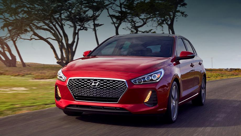 Hyundai elantra,Hyundai elantra gt,Hyundai elantra gt,Hyundai elantra gt sport. Hyundai Elantra GT размерами повторяет i30 ― 4340×1795×1455 мм. Колёсная база составляет те же 2650 мм, что и у предшественника, который был короче, уже, но выше. На новой Элантре GT опционально доступны диодные фары ближнего и дальнего света.