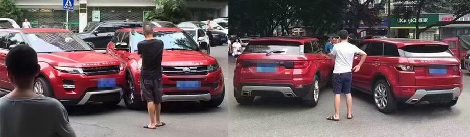 Эпическая «авария года» произошла второго августа 2016-го на перекрёстке в Чунцине. К счастью, никто не пострадал. Виновником признан водитель поддельного кроссовера.
