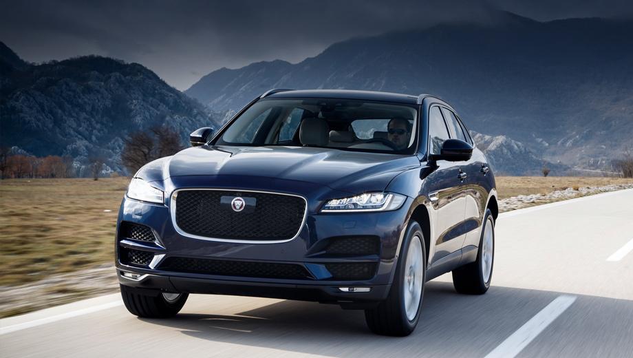 Jaguar f-pace,Jaguar xf,Jaguar xe. Jaguar F-Pace расширил палитру цветов кузова. Список опций пополнился 15-спицевыми легкосплавными дисками диаметром 22 дюйма. Прибавилось вариантов отделки интерьера.