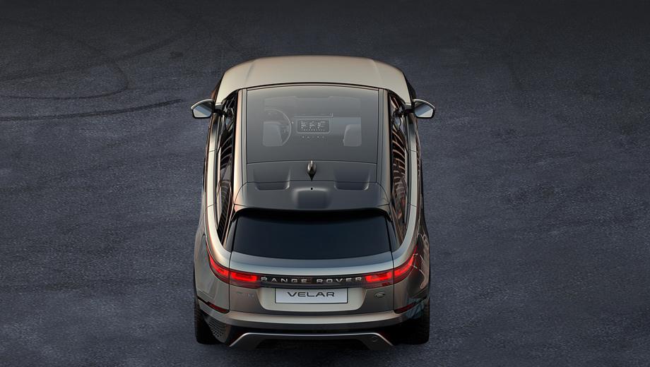 Кроссовер Range Rover Velar раскроется через неделю