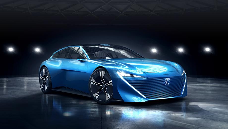Peugeot concept,Peugeot instinct. Жиль Видаль, директор Peugeot по дизайну, рассказал, что в концепте авторы постарались «совместить несовместимое». Автомобиль якобы должен всегда служить источником эмоций и дарить радость вождения. Вместе с тем проект заточен под автономный режим.
