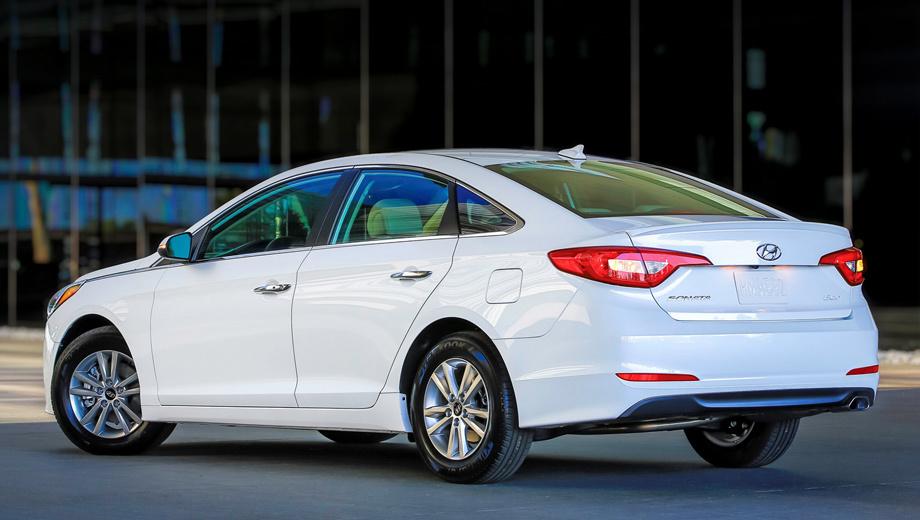 Hyundai sonata. Самая доступная Sonata, оснащённая системой Android Auto, стоит в США от $21 975.