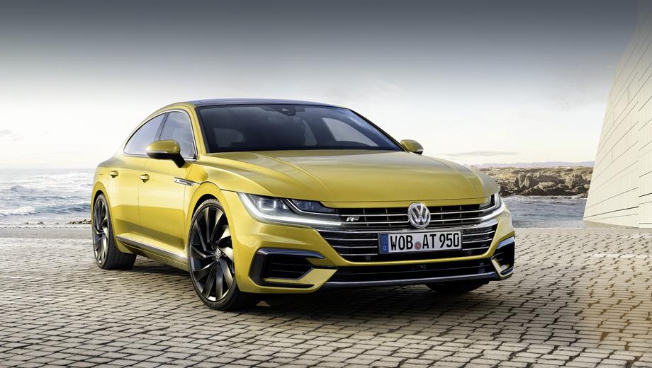Новый Gran Turismo: Volkswagen Arteon