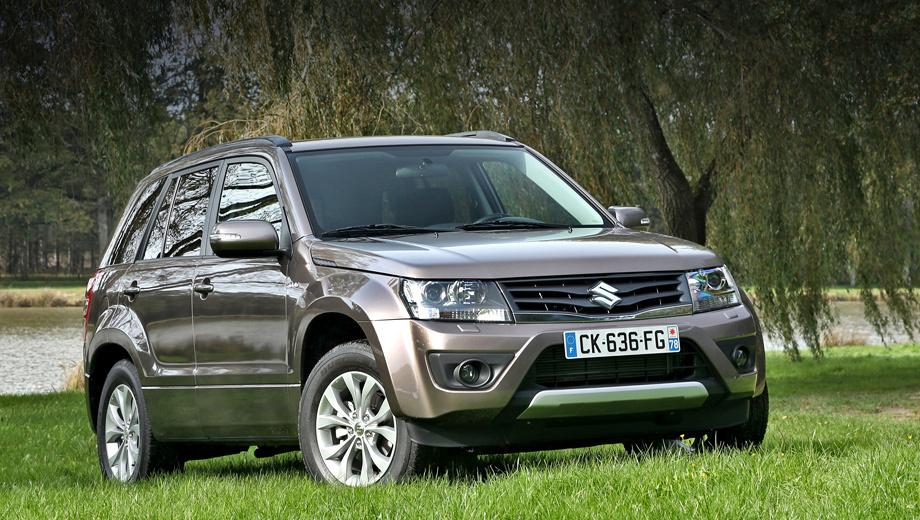 Suzuki grand vitara. Производство модели Grand Vitara было прекращено в 2015-м. Российский рынок она покинула в конце прошлого года. Распродав остатки, дилеры реализовали 252 машины.
