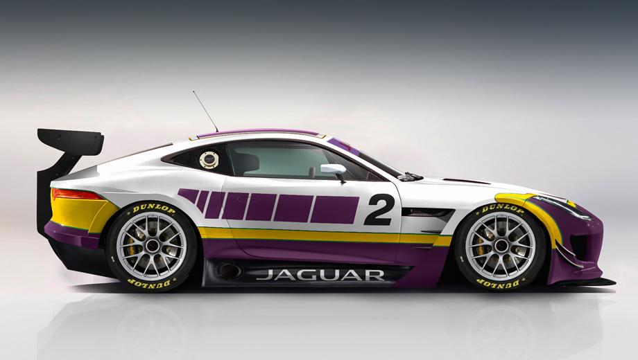 Jaguar f-type,Jaguar f-type gt4. Ещё в 2012 году фирма Jaguar намеревалась создать F-type GT3, но проект был отменён. Судьба модели F-type GT4 может оказаться более счастливой.