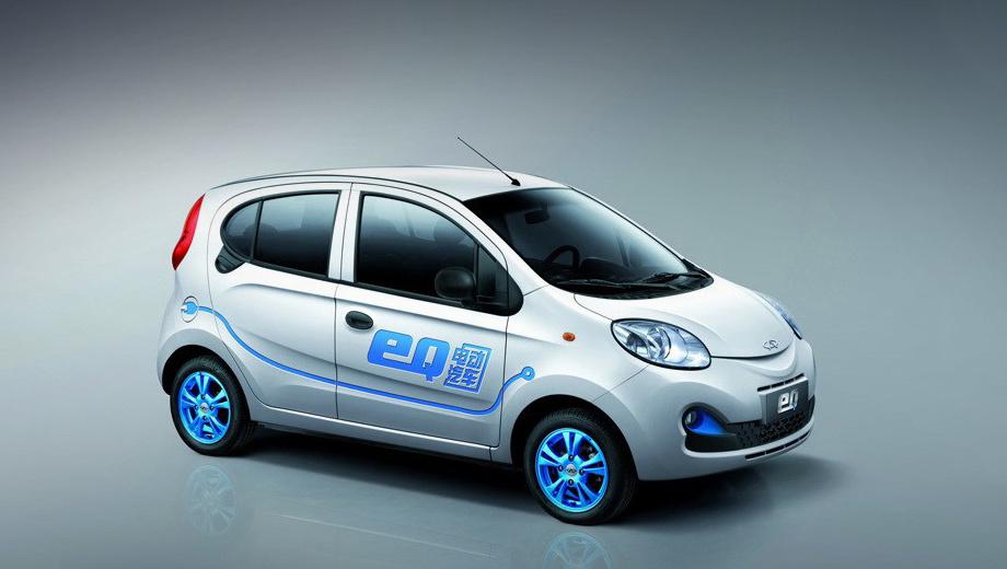Mercedes eq,Chery eq. Электрокар eQ — это батарейная версия хэтчбека Chery QQ, которая предлагается в Китае с 2015 года. Мотор выдаёт 41,8 кВт (57 л.с., 150 Н•м), ёмкость литиево-ионного аккумулятора — 22,3 кВт•ч, запас хода — 200 км, максималка — 100 км/ч.