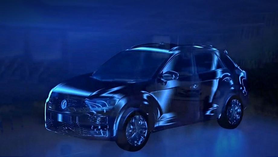 Volkswagen t-roc. Мировая презентация модели Volkswagen T-Roc состоится в сентябре 2017 года, а в продажу автомобиль поступит в начале 2018-го. Поговаривают, в Европе за базовую версию с передним приводом и ручной коробкой передач попросят 19,5−20 тысяч евро.