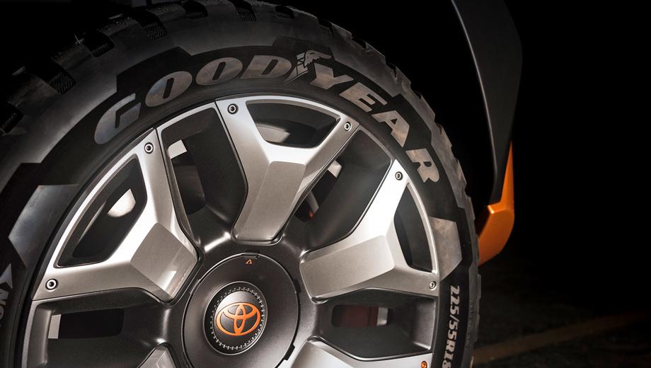 ВНью-Йорке презентуют концептуальный автомобиль Тойота FT-4 Concept