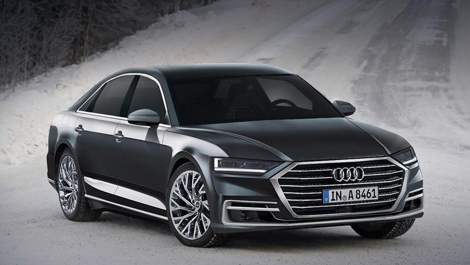 Audi a8. Помимо бензиновых и дизельных модификаций для следующей Audi A8 готовят гибридную версию. Предшественник Audi A8 Hybrid появился в 2011 году и оснащался 245-сильной бензоэлектрической установкой (480 Н•м). Спурт до сотни занимал 7,7 с, расход топлива в смешанном цикле не превышал 6,4 л/100 км.