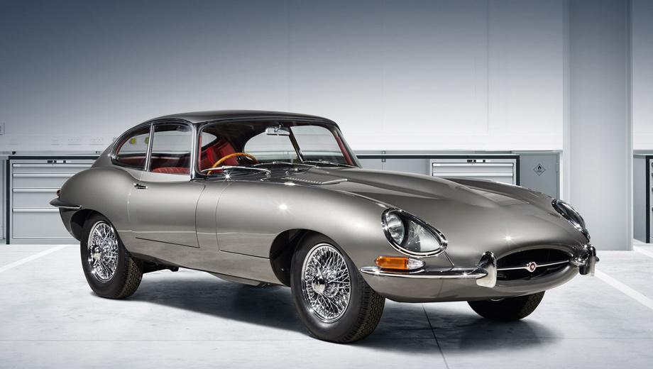 Jaguar e-type. Jaguar E-type Reborn впервые покажут на автосалоне Techno-Classica в немецком Эссене. И классическое купе уже можно купить: в центре Jaguar Land Rover Classic Works десять оживлённых по заводским лекалам автомобилей ждут своих владельцев.