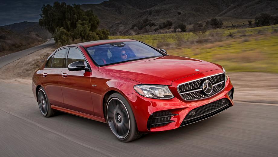 Mercedes e amg,Mercedes c amg,Mercedes glc amg,Mercedes glc coupe amg. В России представлены почти все «сорок третьи»: E 43 (на фото) стоит от 4,87 млн рублей, седан C 43 — минимум 3,58 млн, купе — на 340 тысяч дороже. За кабриолет C 43 ломят больше пяти миллионов. Кроссоверы GLC 43 и GLC 43 Coupe обойдутся минимум в 4,27 млн и 4,82 млн соответственно.