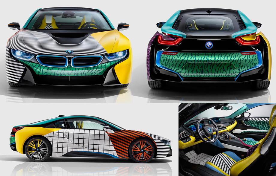 Гибрид BMW i8 и электрокар i3 расцветились в новой версии ...