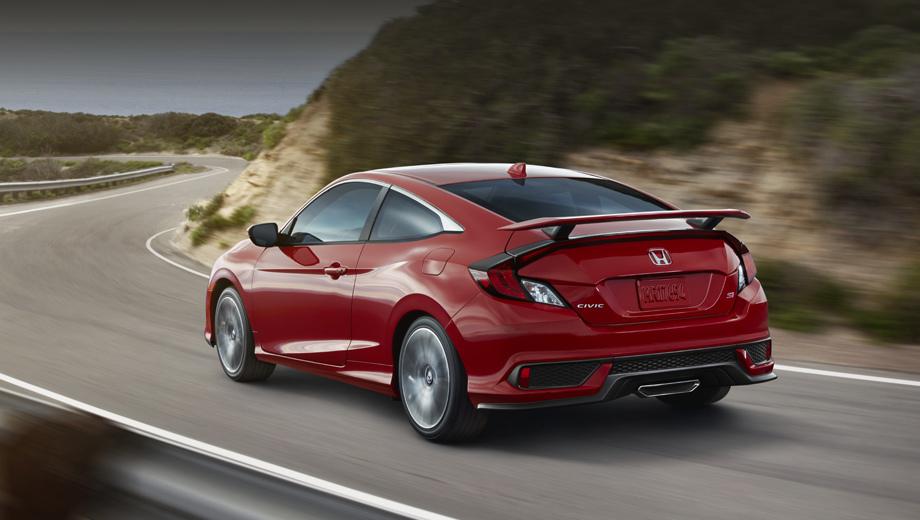 Хонда «подогрела» новый Civic