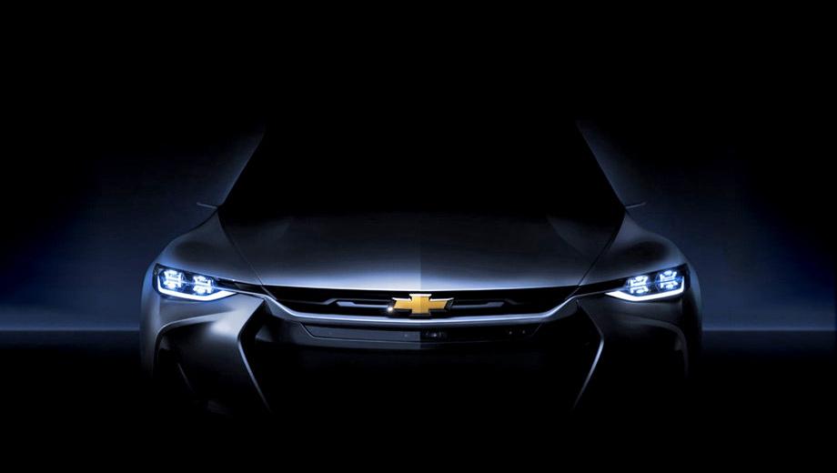 Chevrolet fnr-x,Chevrolet concept. Нельзя не заметить стилистическое сходство концепта с купе Chevrolet Camaro. В целом FNR-X, в отличие от инопланетного «просто» FNR, выглядит предсерийно. Обычных наружных зеркал не хватает.