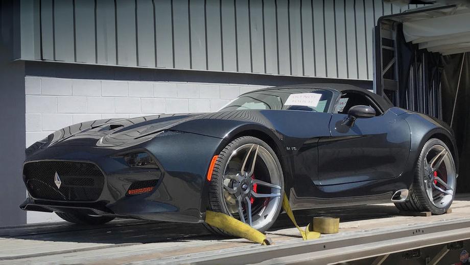 До официального показа рассекречен спорткар VLF Force 1 Roadster