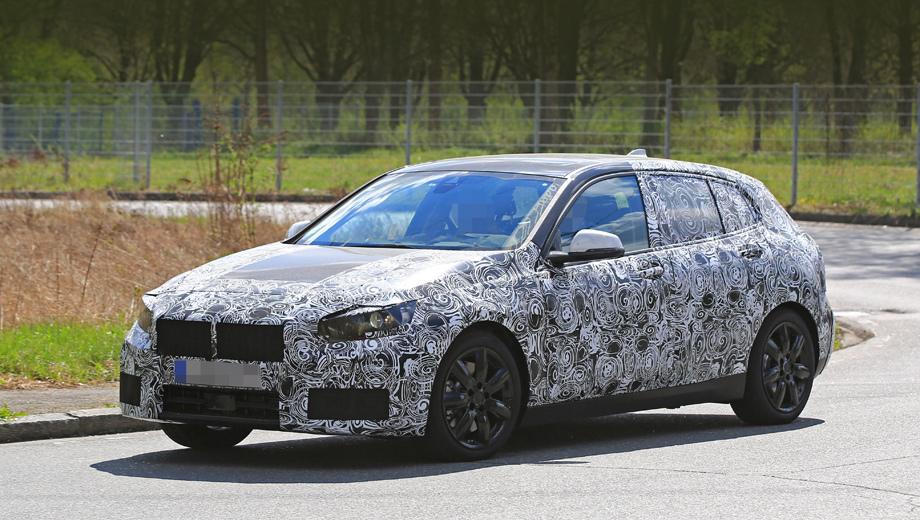 Опубликованы первый шпионские снимки BMW 1-Series 2018