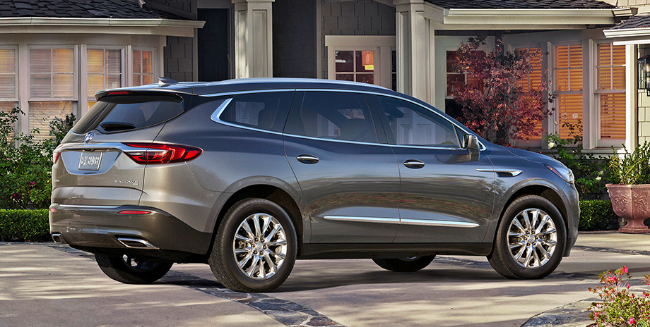 Buick продемонстрировал новый тип кроссовера Enclave Aveniur 2018
