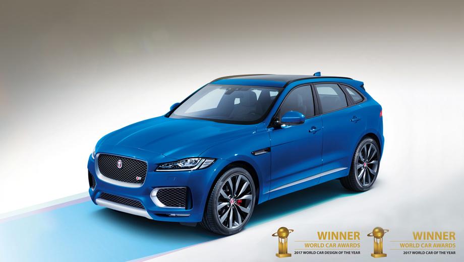 Jaguar f-type. Второй раз за 13-летнюю историю конкурса WCOTY одна модель побеждает в двух номинациях (тем же отличилась ранее Mazda MX-5).