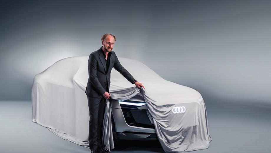 Audi concept. Облик концепта разработан под руководством шеф-дизайнера Audi Марка Лихте.