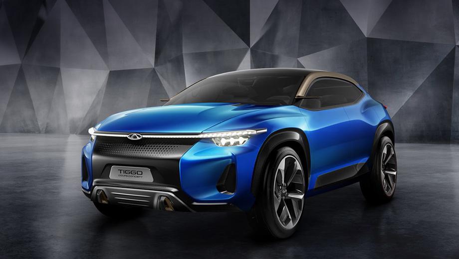 Chery tiggo sport coupe,Chery concept. Как и прошлогодний прототип FV2030, новое «купе» призвано покорить сердца подрастающего поколения потребителей. Поэтому Chery идёт в будущее под девизом Fun to Drive («Вождение в радость»). Переломным должен стать 2020 год.