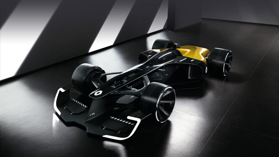 Renault concept,Renault rs 2027 vision. Обилие светодиодов в Формуле, по замыслу авторов концепта, сделает гонки более зрелищными. С учётом наличия ночных этапов в идее есть разумное зерно.
