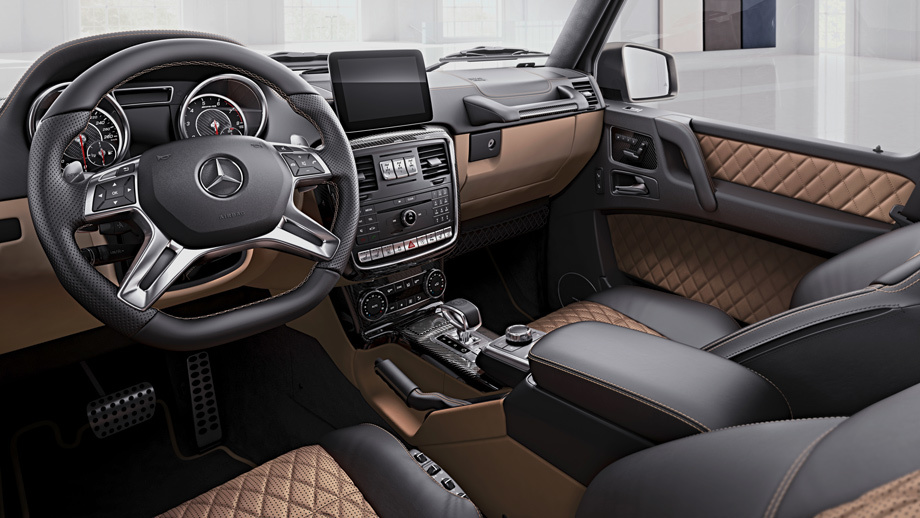 У джипа Мерседес-Бенс G-Class появилось две новые версии