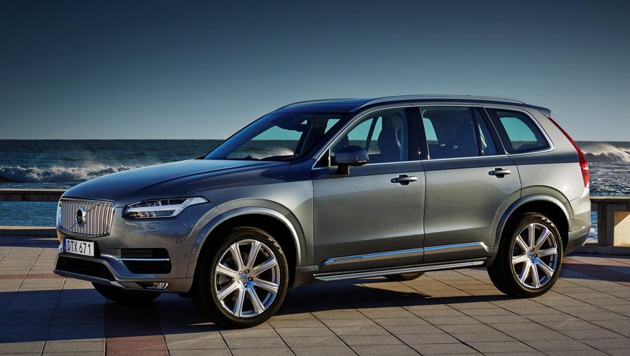 Volvo xc90. Шведы импортируют в Индию семь легковых моделей и в прошлом году реализовали в этой стране около 1400 автомобилей — на 24% процента больше, чем в 2015-м. Рост продаж в годовом исчислении за первые четыре месяца 2017-го составил 35%.