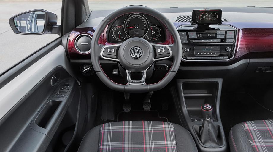 Хэтчбек Volkswagen up! впервые примерил шильдик GTI