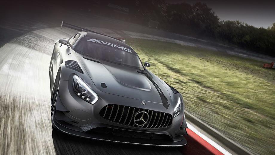 Mercedes amg gt,Mercedes amg gt3. Несмотря на гоночную начинку, вряд ли кто-нибудь захочет участвовать на этой эксклюзивной машине в соревнованиях. В лучшем случае — будет выезжать на кольцо по особым праздникам.