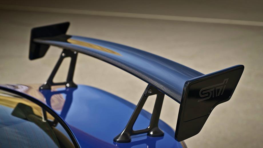 Subaru brz,Subaru brz sti. Кроме антикрыла японцы ничего не показали. У концепта конструкция этого элемента была другой, а на шпионском фото ниже она ровно такая же.