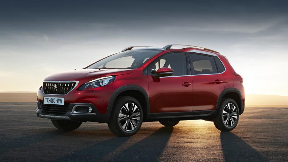 Peugeot 2008. В прошлом году дореформенный 2008-й нашел всего 103 владельцев, но даже это число позволило занять четвёртую строку в классе ввиду скудности самого сегмента в России (а ведь в 2016 году его ещё покинул Nissan Juke).