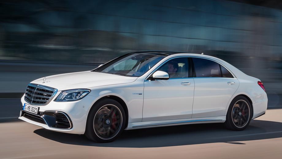 Mercedes s. Модернизация внешности была не столь глубокой (бамперы, решётка, фары, фонари), как пересмотр технической составляющей. У седана появились новые системы безопасности, моторы, электроника и возможности при сетевых подключениях.