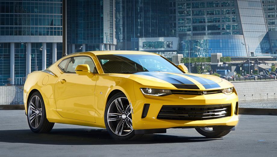 Chevrolet camaro. В России продажи Chevrolet Camaro шестого поколения начались в декабре 2016 года. До мая 2017-го на нашем рынке купили свыше 130 купе. Из них 50 автомобилей из юбилейной серии 50th Anniversary Edition ― по цене от 3 099 000 рублей.