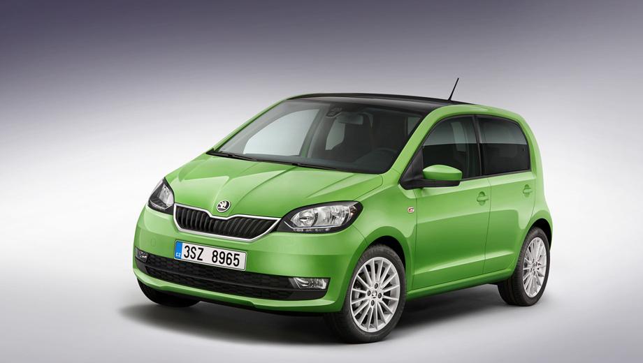 Skoda citigo. Citigo предлагается только в Европе по цене от 9770 евро и пользуется там пусть небольшим, но стабильным спросом. Ежегодно покупателей находят около 40 000 машин. Другие модели Шкоды продаются во много раз лучше.