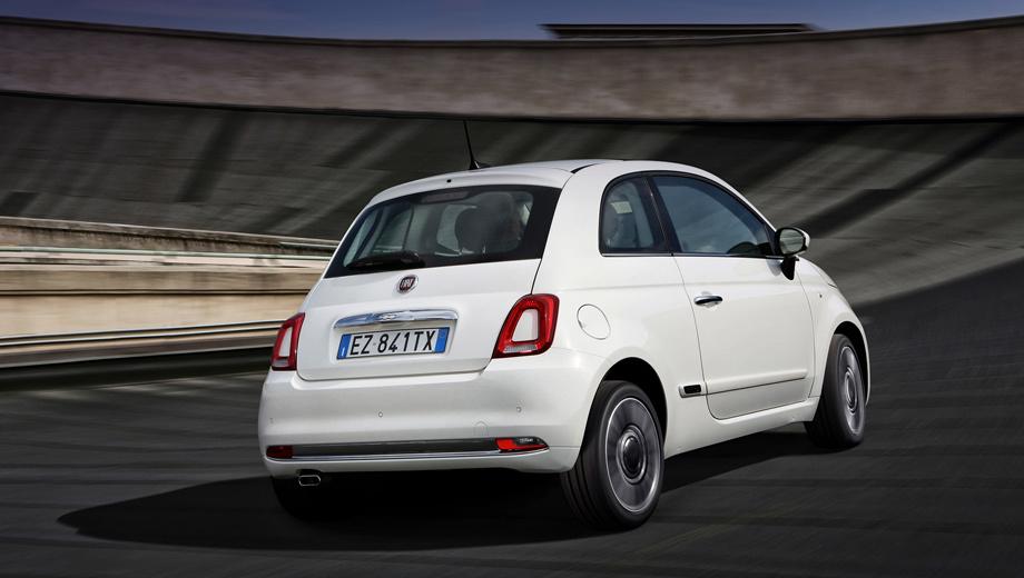 Fiat 500. В последнее время «пятисотый» предлагался у нас с двигателем 1.4 (100 л.с., 131 Н•м) и пятиступенчатым «роботом» по цене от 1 015 000 рублей. За 2016 год продали лишь 41 машинку, тогда как, например, Kia Picanto нашла 1569 покупателей.
