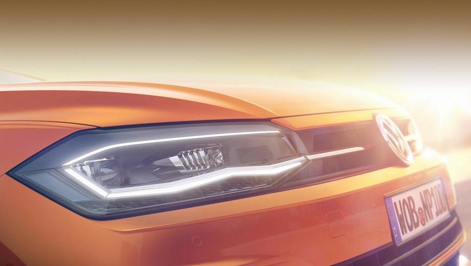 Volkswagen polo. Новичок построен на платформе MQB-A0, это ближайший родственник последней Ибицы (или Ивисы, если угодно).