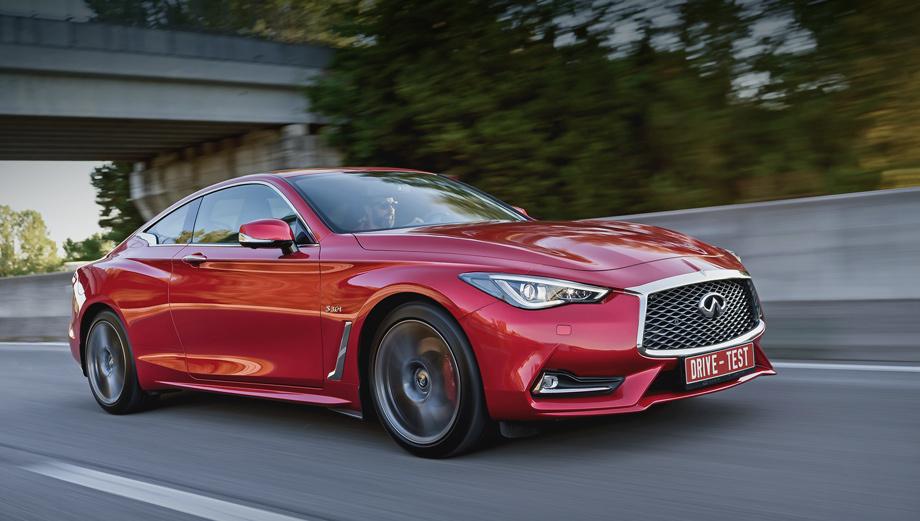 Infiniti q60. Купить можно только версию Q60 S с мотором V6 и полным приводом в единственной насыщенной комплектации за 3 414 000 рублей, смирившись с повышенным транспортным налогом на роскошь.