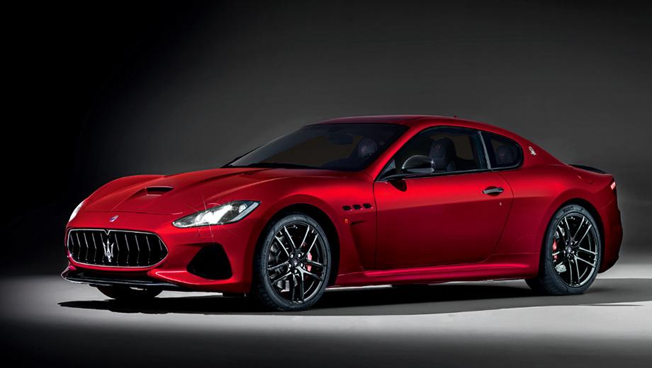 Maserati granturismo. Двухдверка Maserati GranTurismo Sport ускоряется до сотни за 4,8 с, а максимальная скорость достигает 299 км/ч. Те же самые показатели у GranTurismo MC ― 4,7 с и 301 км/ч соответственно. С 2007 года по миру разошлось свыше 37 тысяч машин.